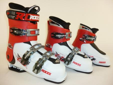 Roces IDEA White-Red-Black Skischuhe
