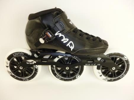 Wurskate CX Speed Skate schwarz 125mm Rollen