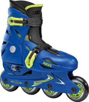 Roces Orlando III Blue/Lime Kinderskates
