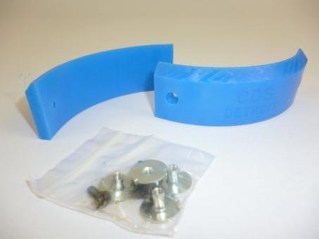CDS Detroit Grind Plates Blau - Grindplates (vorne) Größe 4