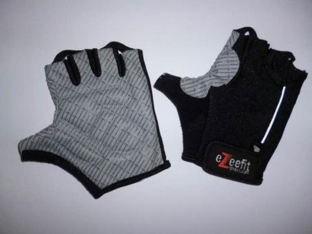 ezeefit Bike Gloves black - rutschfeste Fahrradhandschuhe