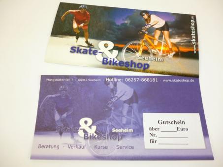 Skateshop Gutschein 5 Euro