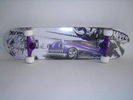 Hotwheels Skateboard Purple Passion