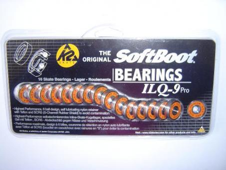 K2 Kugellager Softboot Pro ILQ-9 (16er Set)