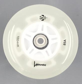 Luminous-LED Wheels White-Glow 100mm/85A (Stück)