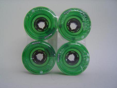 Matter Longboard Wheels-Rolle 77mm (4er Set)