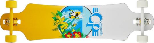 "Ocean Pacific Drop Through Complete Longboard (39"" -Weiß)"