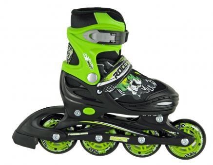 Roces Compy 6.0 Kinderskate Boy black-light green