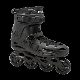 Seba Freeskate E3 PREMIUM - schwarze 80mm Rollen