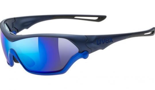 Uvex Sportbrille Sportstyle 705 - blue mat metallic