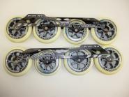 Rollerblade Frame 195mm + Rollen 110/100mm